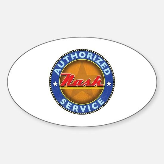 Cute Nash Sticker (Oval)