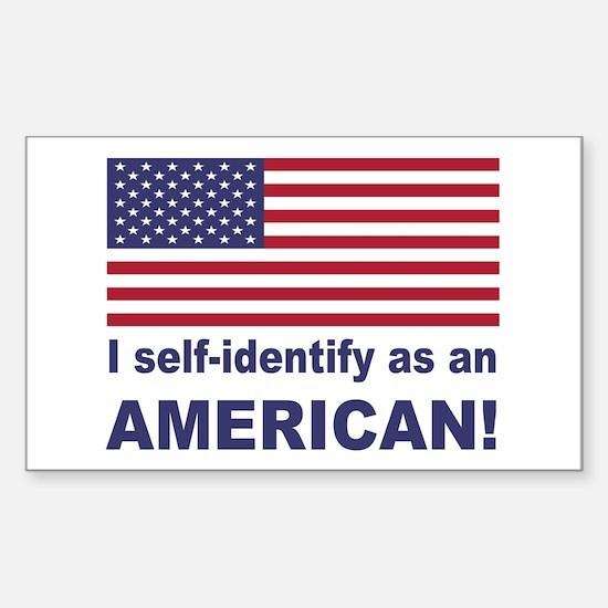Self Identify Sticker (Rectangle)