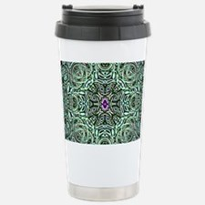 Metallic Celtic Knot Stainless Steel Travel Mug