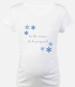 Tis the Season to be Pregnant Shirt