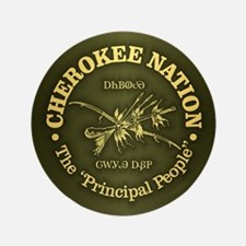 Cherokee Nation Button