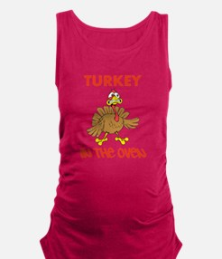 Turkey in the Oven Maternity Tank Top