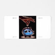 Savings Aluminum License Plate