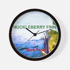 Huckleberry Finn Wall Clock