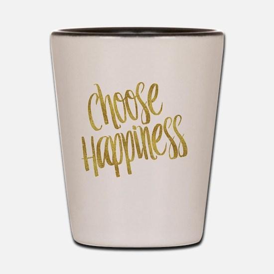 Cute Happiness Shot Glass
