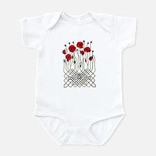Celtic Poppies Infant Bodysuit