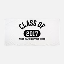 Personalize It, Class of 2017 Beach Towel