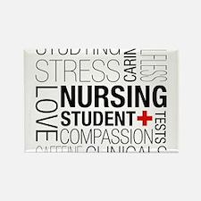 Nursing Student Box Magnets
