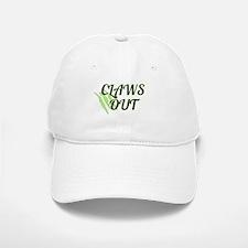 CLAWS OUT Baseball Baseball Cap