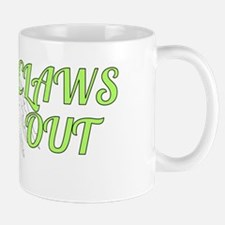 CLAWS OUT (green) Mugs
