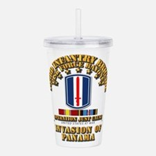 Just Cause - 193rd Inf Acrylic Double-wall Tumbler