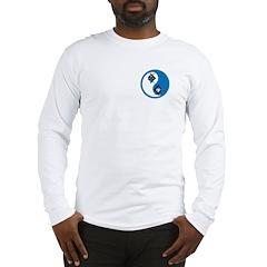 Masonic Yin Yang Long Sleeve T-Shirt