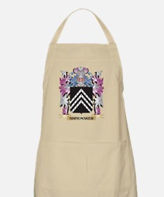 Shoemaker Coat of Arms - Family Crest Apron