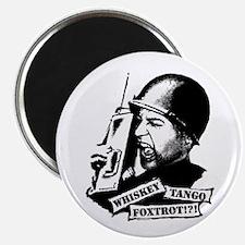 Whiskey Tango Foxtrot Magnet