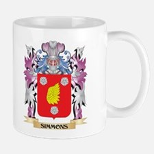 Simmons Coat of Arms - Family Crest Mugs