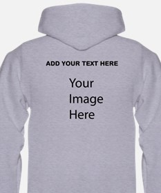 Add Your Own Picture And Text Hoodie
