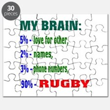My Brain, 90% Rugby . Puzzle