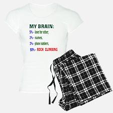 My Brain, 90% Rock Climbing Pajamas