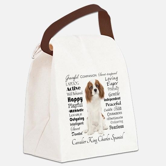 Cavalier Traits Canvas Lunch Bag