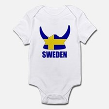 "Swedish Viking ""Sweden"" Infant Bodysuit"