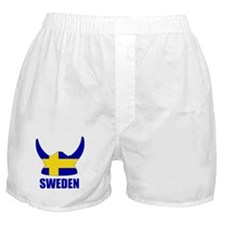 "Swedish Viking ""Sweden"" Boxer Shorts"