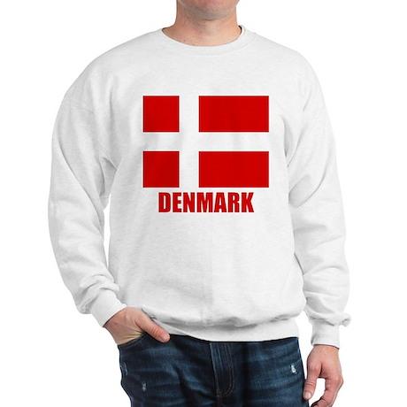 "Danish Flag ""Denmark"" Sweatshirt"