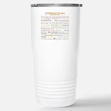 Unique 30th birthday Travel Mug