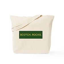 Scotch Rocks Tote Bag