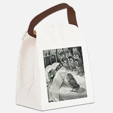 Funny Surreal Canvas Lunch Bag