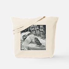 Cute Cat dreams Tote Bag