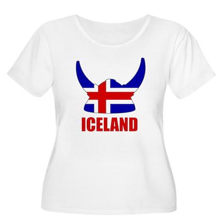 "Icelandic Viking ""Iceland"" Women's Plus Size Scoop"