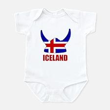 """Icelandic Viking """"Iceland"""" Infant Bodysuit"""
