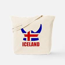 """Icelandic Viking """"Iceland"""" Tote Bag"""