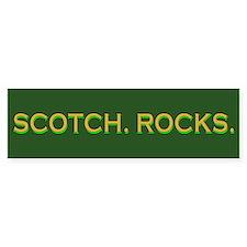 Scotch Rocks Bumper Bumper Sticker