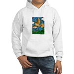 Marcy Hall's Hawk Totem Hooded Sweatshirt