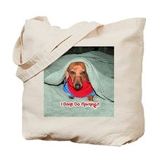Red Dachshunds Tote Bag