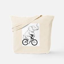 Cute Funny cycling Tote Bag