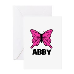 Butterfly - Abby Greeting Card