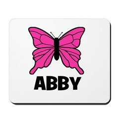 Butterfly - Abby Mousepad