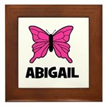 Butterfly - Abigail Framed Tile
