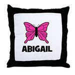 Butterfly - Abigail Throw Pillow