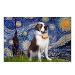 Starry / Saint Bernard Postcards (Package of 8)