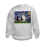 Starry / Saint Bernard Kids Sweatshirt