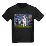 Starry / Saint Bernard Kids Dark T-Shirt