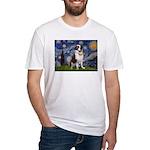 Starry / Saint Bernard Fitted T-Shirt