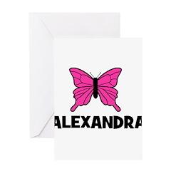 Butterfly - Alexandra Greeting Card