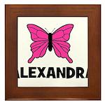 Butterfly - Alexandra Framed Tile