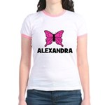 Butterfly - Alexandra Jr. Ringer T-Shirt