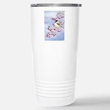 Watercolor Chickadee in Travel Mug