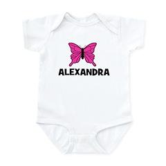 Butterfly - Alexandra Infant Bodysuit